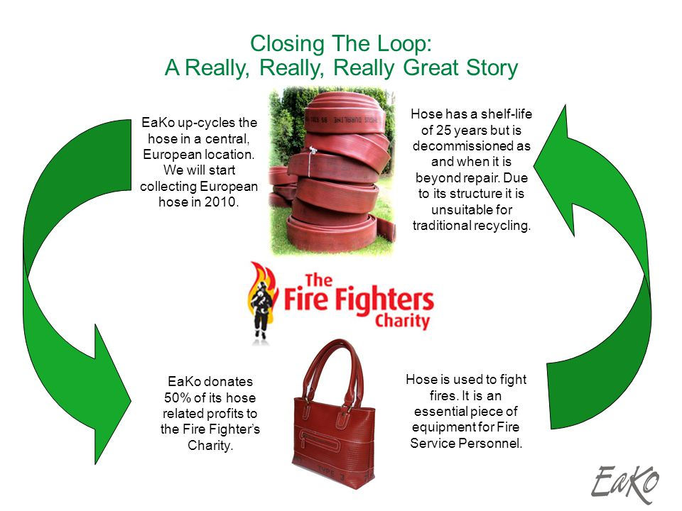 Closing The Loop: A Really, Really, Really Great Story Hose is used to fight fires.