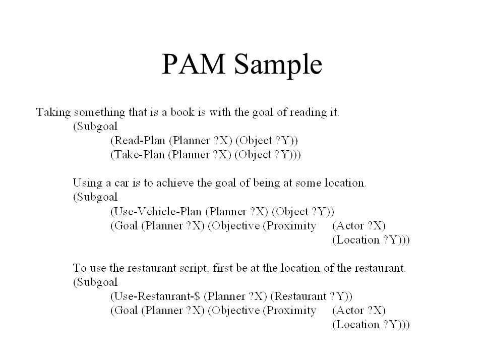 PAM Sample