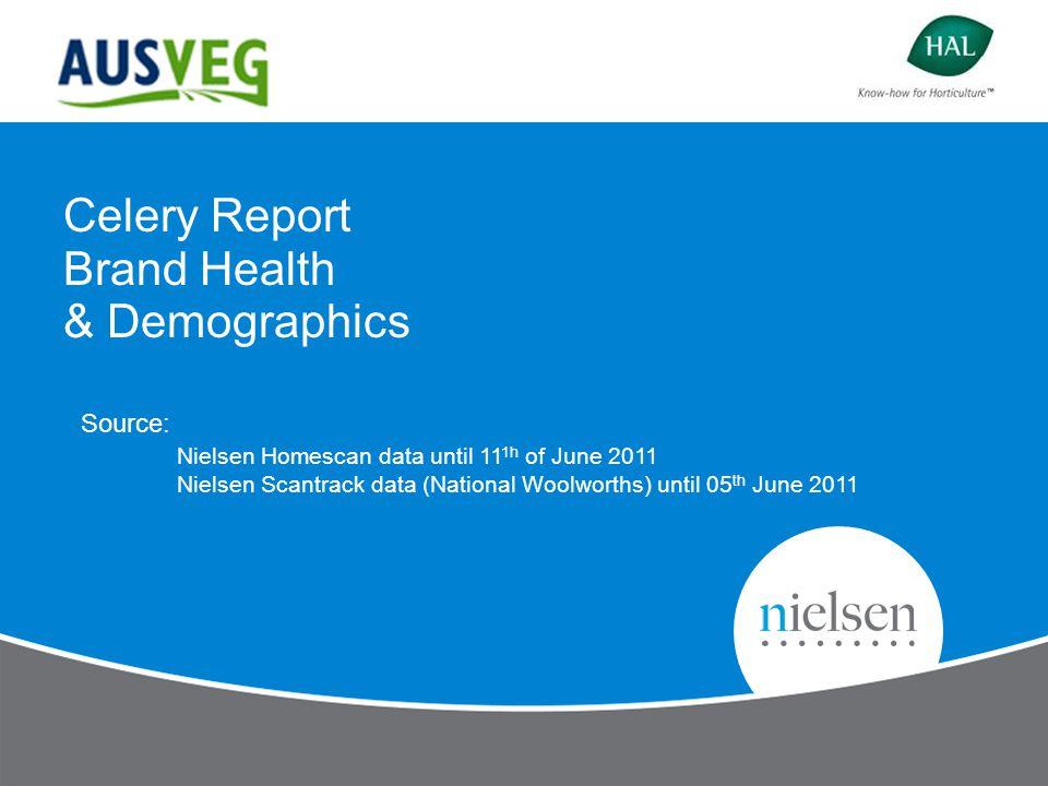 2 Copyright © 2011 The Nielsen Company.Confidential and proprietary.