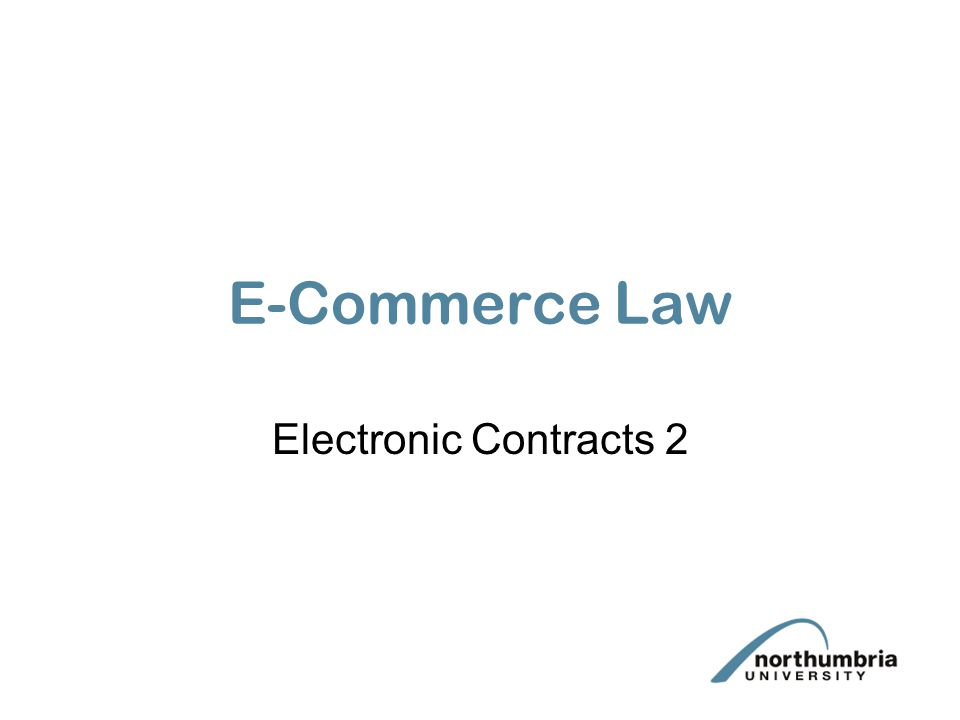 The creation of electronic contracts via the Internet.