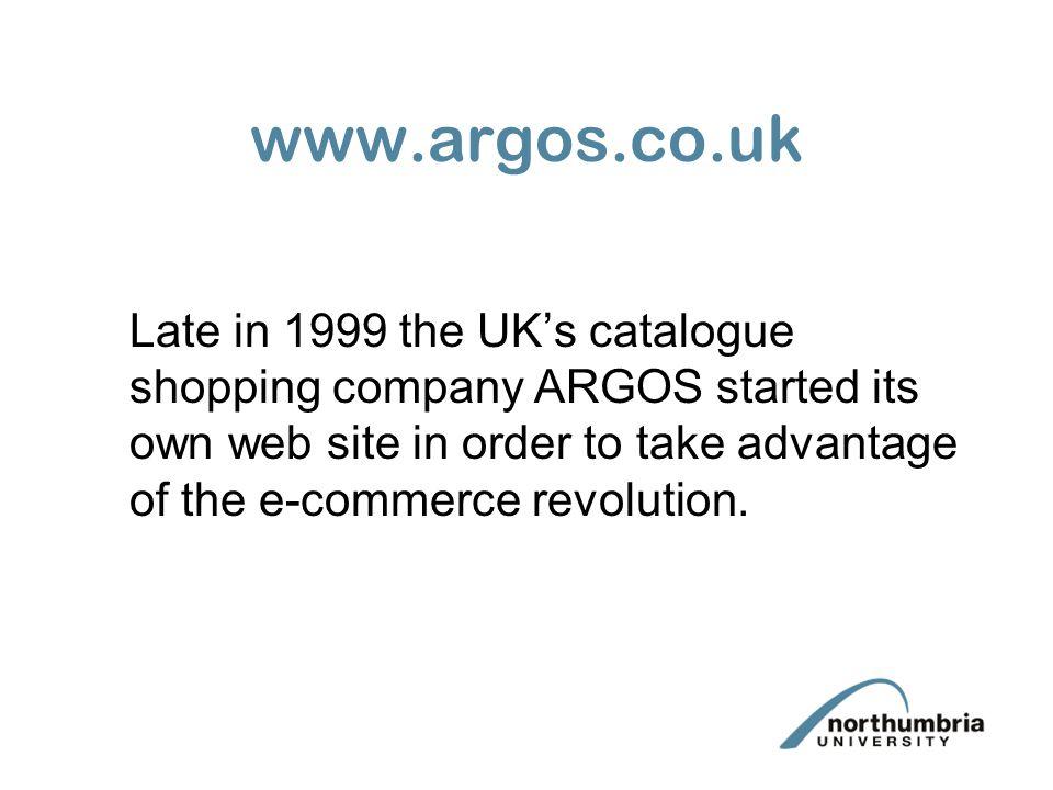 www.argos.co.uk On their website, Argos made a pricing error.