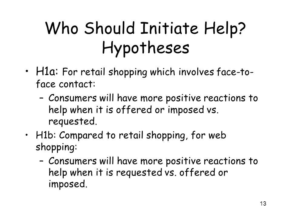 13 Who Should Initiate Help.