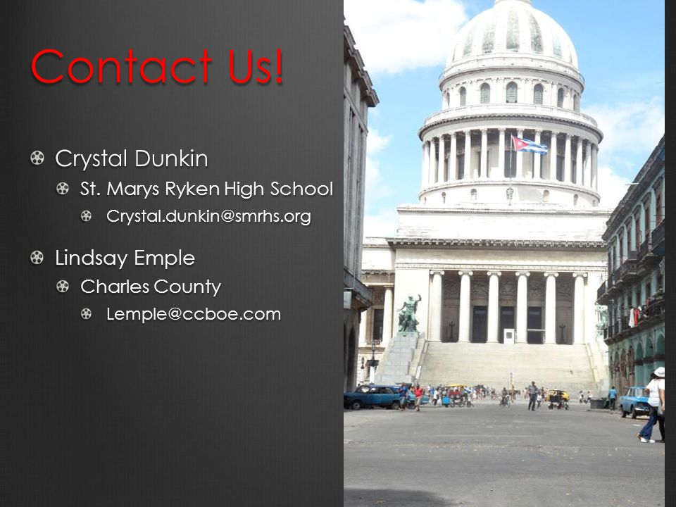 Contact Us. Crystal Dunkin St.