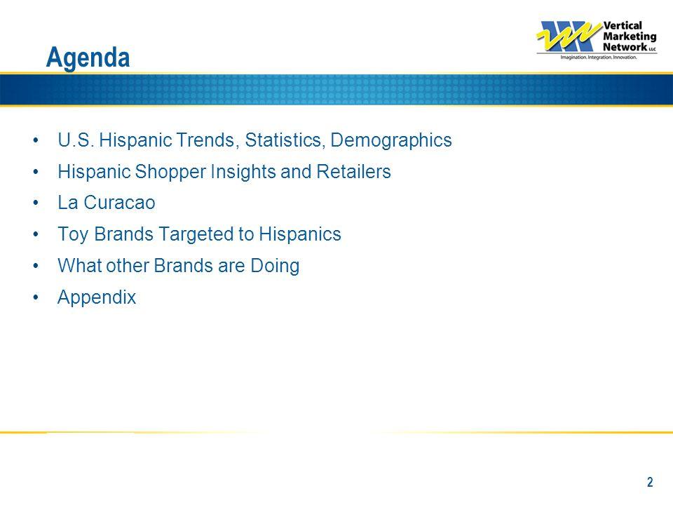 McAllen-Harlingen 91% of Hispanics Speak Spanish at Home (2) Source: (1) 2009 Nielsen Universe Estimates; (2) Global Insight - 2007 Hispanic Market Monitor (income reflects average); (3) Geoscape AMD 2009 Series, Census 2000, 2009 Estimates, 2014 Projections INCOME & CONSUMER SPENDING (2) MARKET SIZE (1) POPULATION GROWTH (3) POPULATION DEMOGRAPHICS (1) # 10 Hispanic DMA (Ranking by TV HHs) Hispanic Consumer Spending Hispanic Disposable Income Hispanic Disposable HH Income Hispanic Population % Hispanic of Total Persons 2+ Children 2-11 Teens 12-17 Adults 18-34 Adults 18-49 Adults 25-54 Hispanic Population % Hispanic of Total 291,220 Hispanic Households 83% of the DMA Hispanics Have Larger Households.