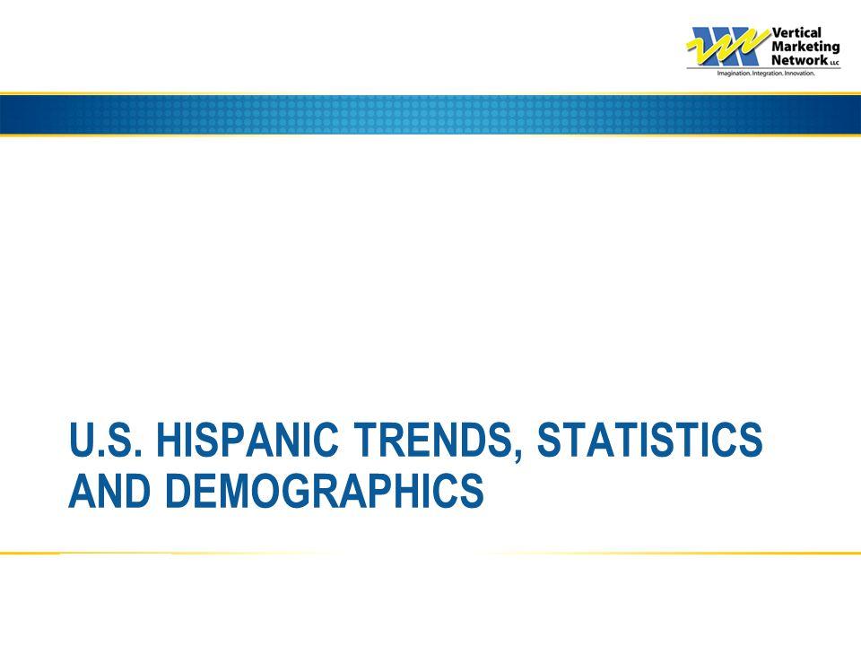 U.S. HISPANIC TRENDS, STATISTICS AND DEMOGRAPHICS