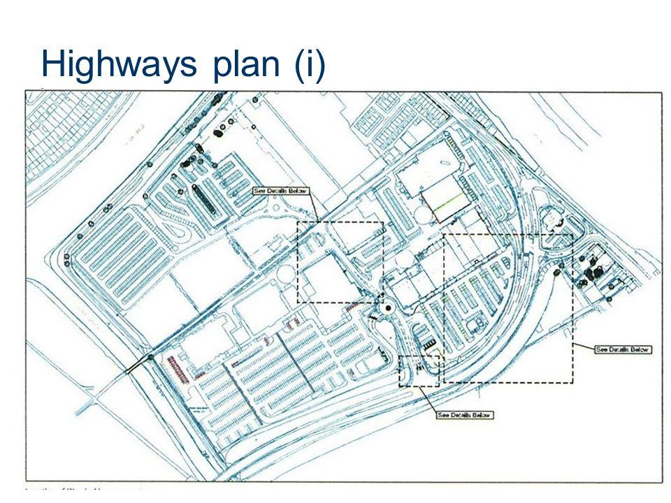 Highways plan (i)