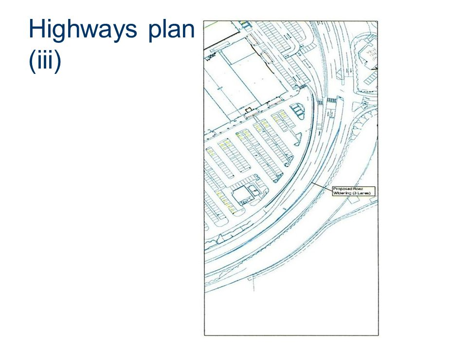 Highways plan (iii)