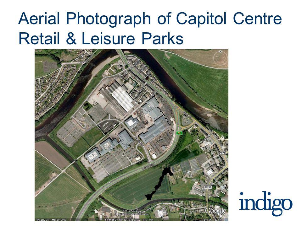 Aerial Photograph of Capitol Centre Retail & Leisure Parks