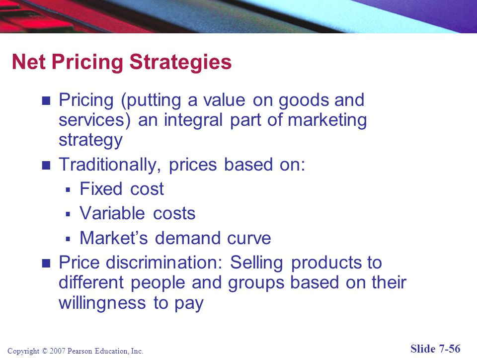 Copyright © 2007 Pearson Education, Inc. Slide 7-55 Other Customer Retention Marketing Techniques (cont'd) Customer service tools include: Frequently