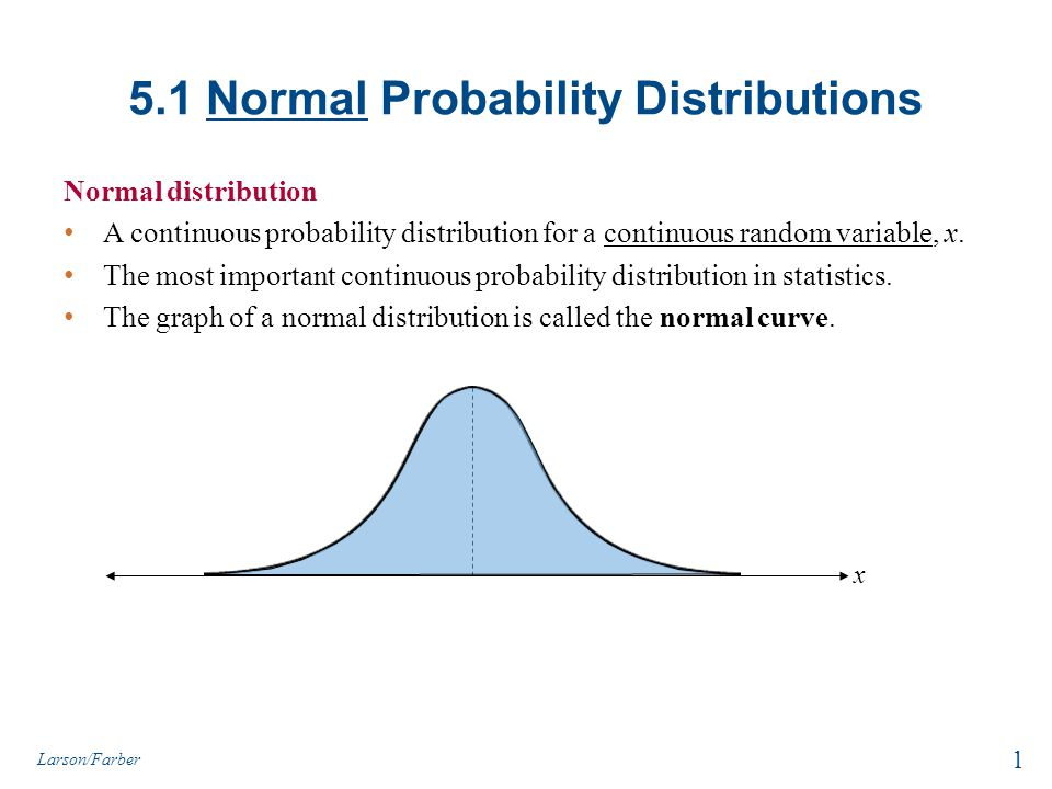 Properties of Normal Distributions 1.The mean, median, and mode are equal.