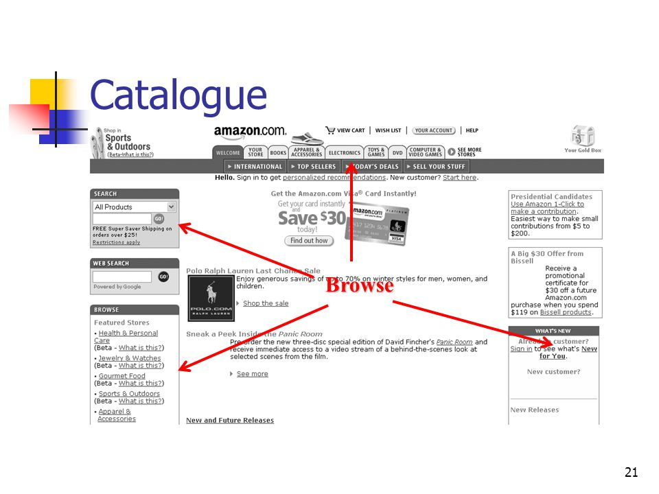 21 Catalogue Browse