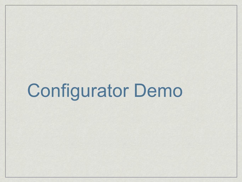 Configurator Demo