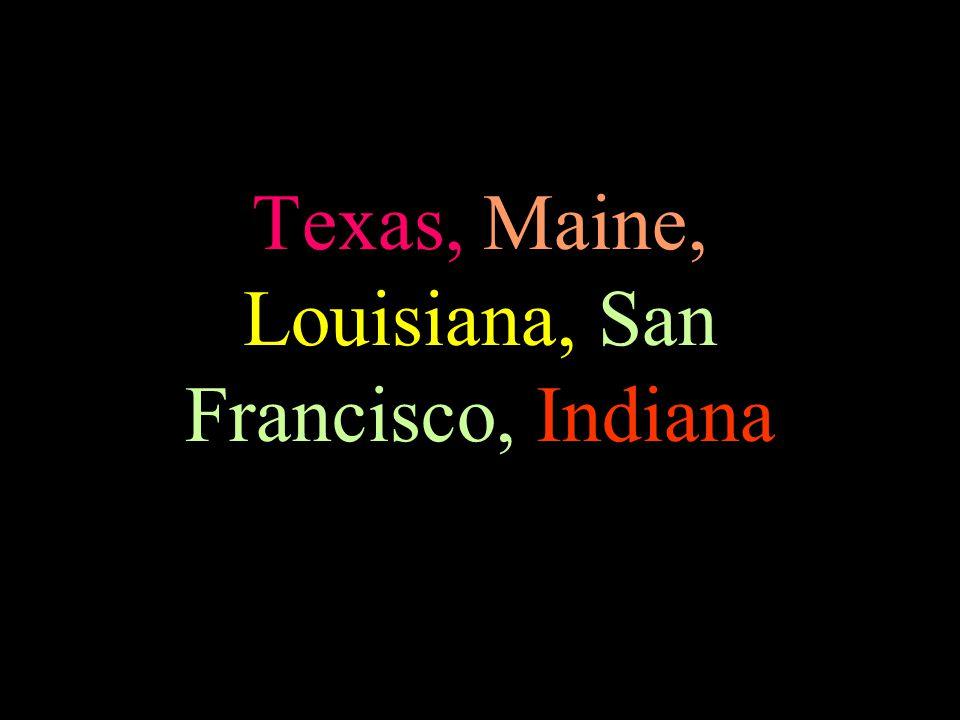 Europe, Asia, Minnesota, Cincinnati, North Dakota,