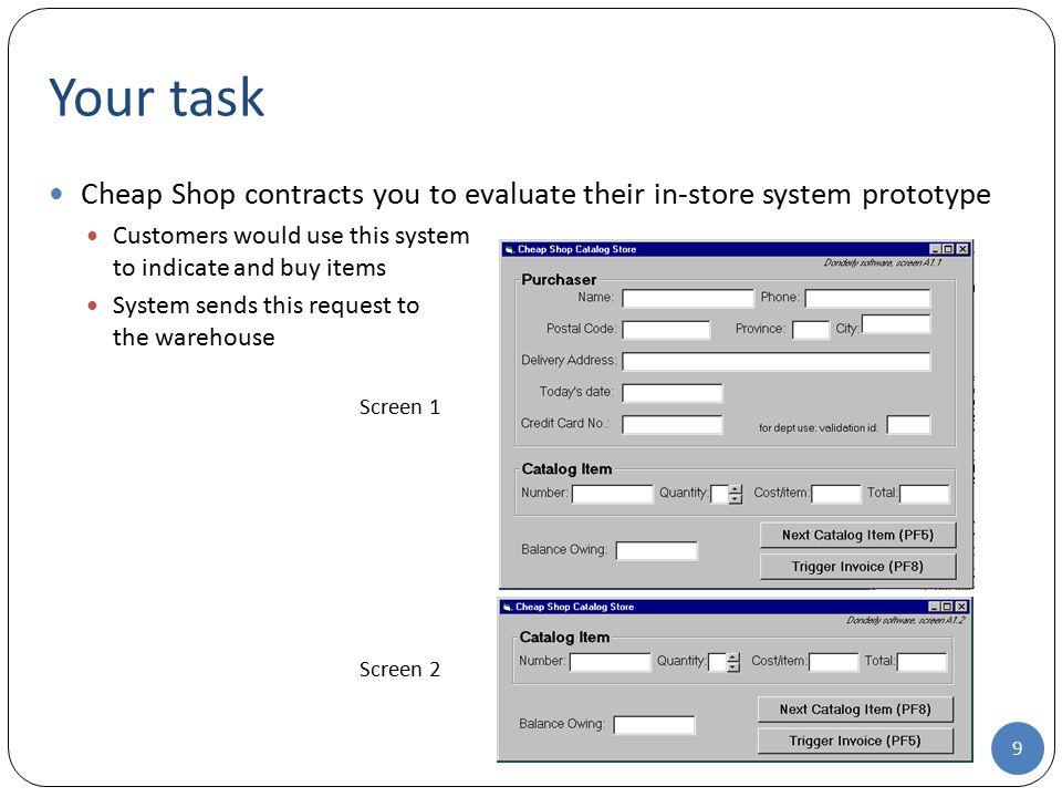 Task Centered System Design (TCSD)