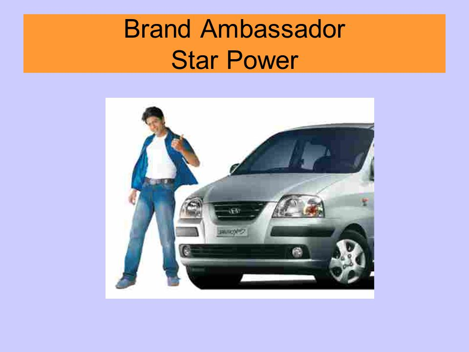 Brand Ambassador Star Power