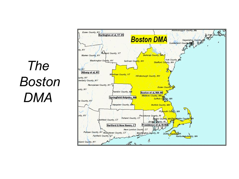 The Boston DMA