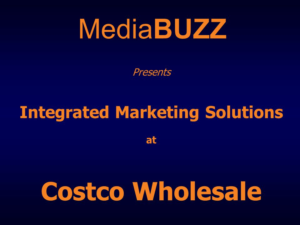 In-Store Brand Equity for Auto Manufacturers Autos displayed at select Costco locations Over 22 different regions available