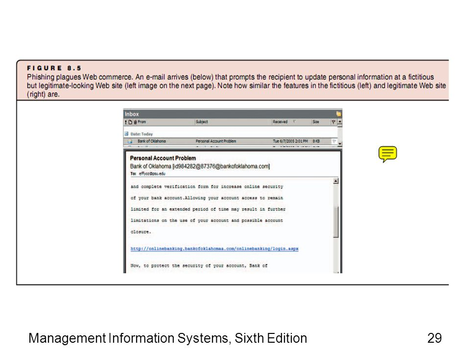 Management Information Systems, Sixth Edition29
