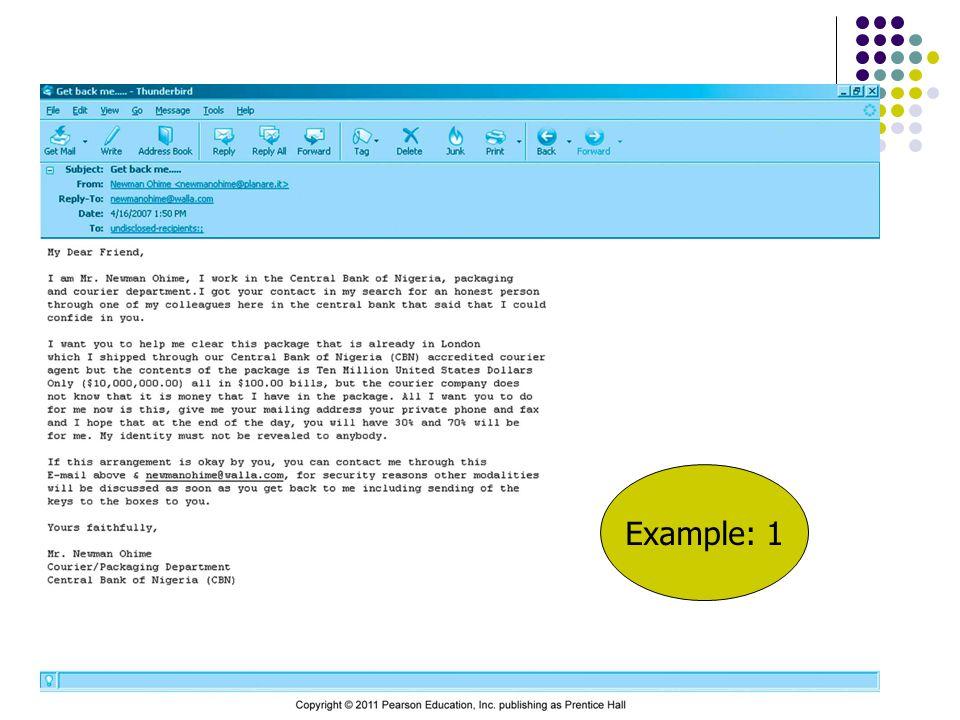 Example: 1