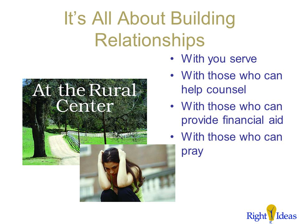 What's Networking Got To Do With CPC Ministry? It's a process that finds you gathering the resources you need and applying them in the way your provid