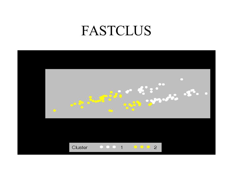 FASTCLUS