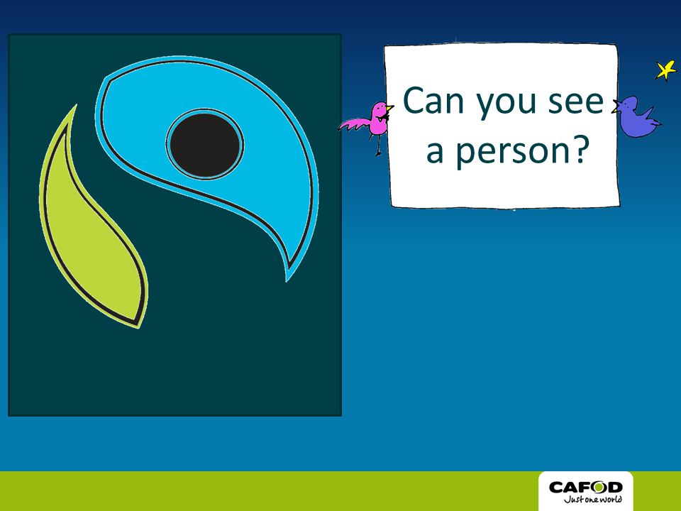 Can you see a person