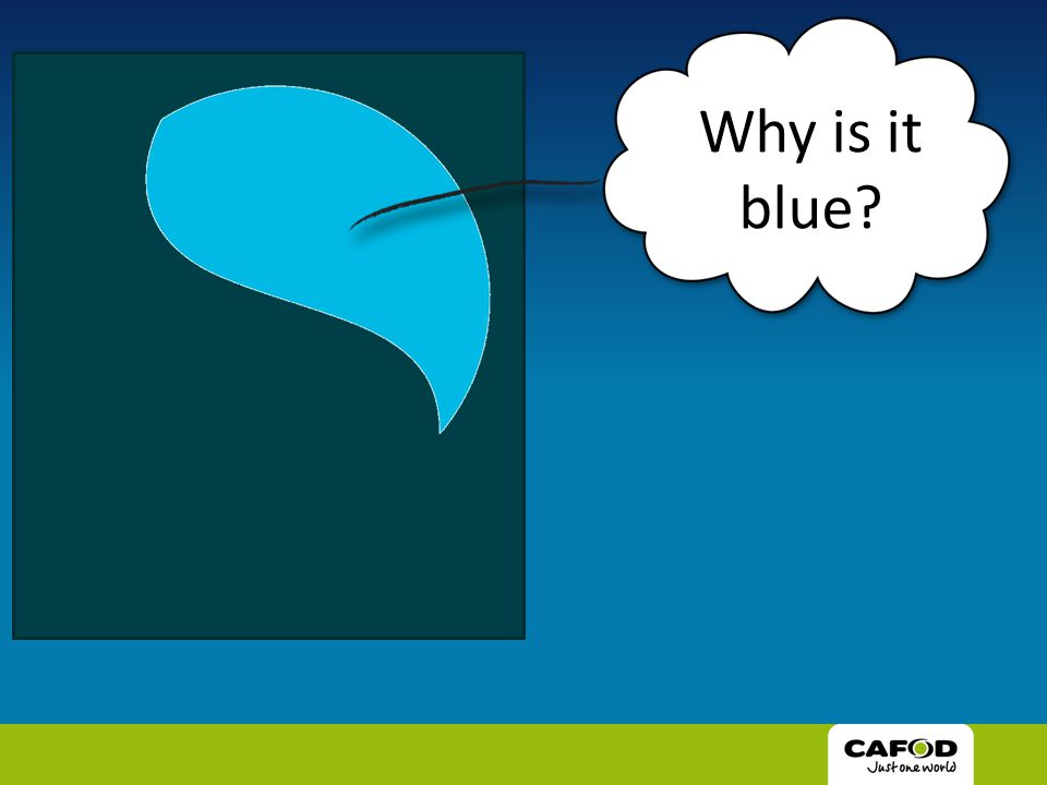 Why is it blue?