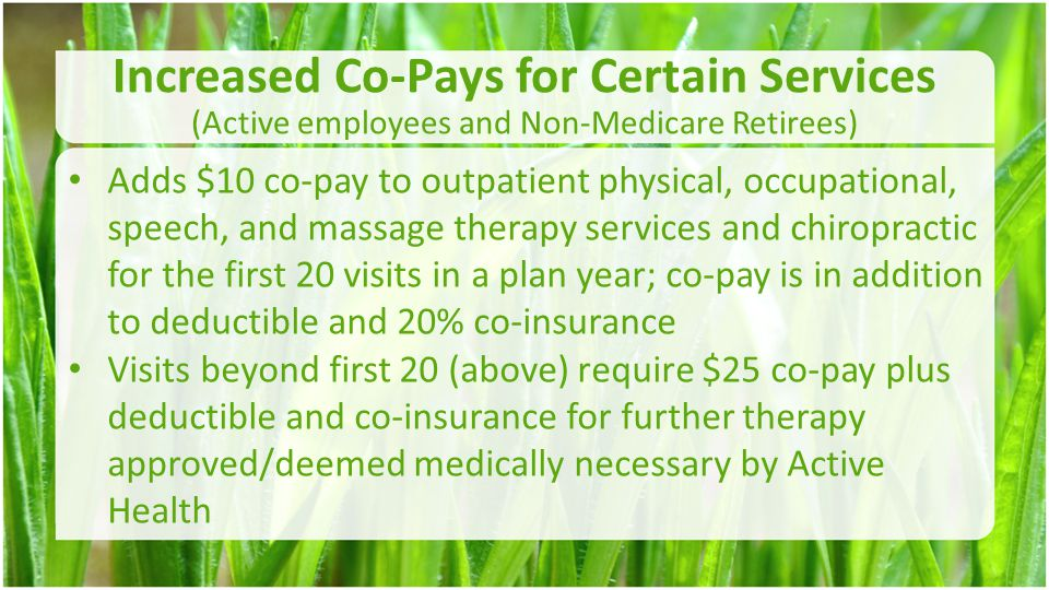 HSA Advantages –Pre-tax employee contribution through §125 Cafeteria plan; –Account is owned and controlled by the participant –Allow unused funds to be carried over from plan year to plan year –Allow funds from other HSA funds to be rolled over into the plan –Allow a catch-up contribution for participants age 55 and older –An investment vehicle for future medical needs.