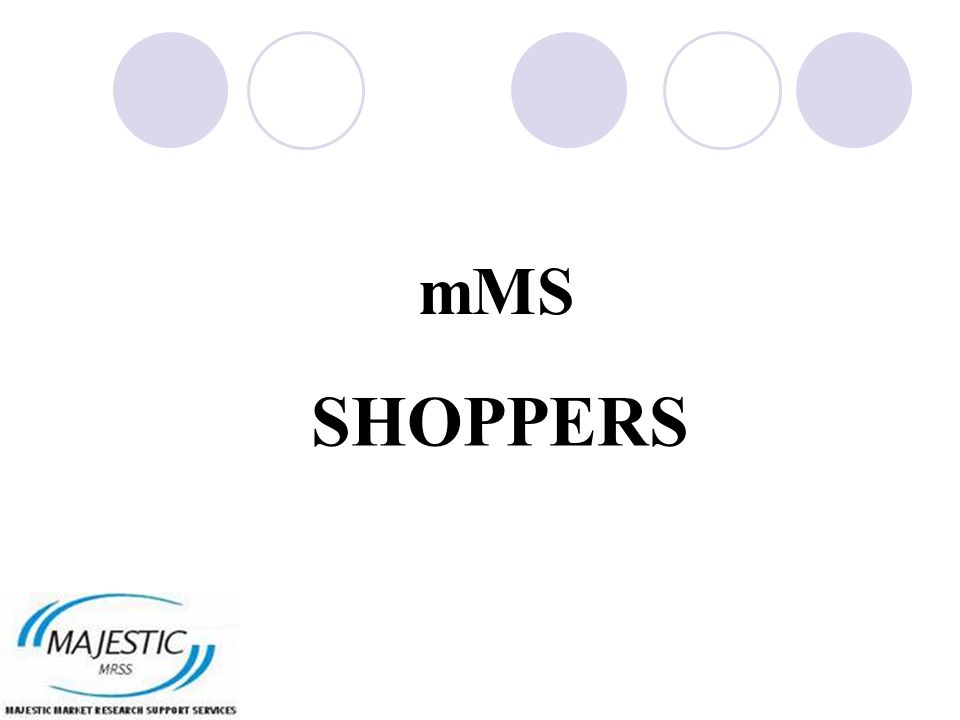 mMS SHOPPERS