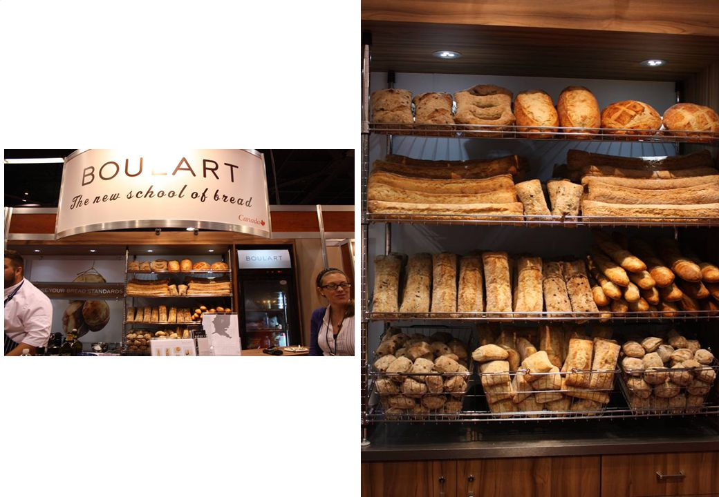 Canadian Baker – Boulart. Unique shapes all par bake