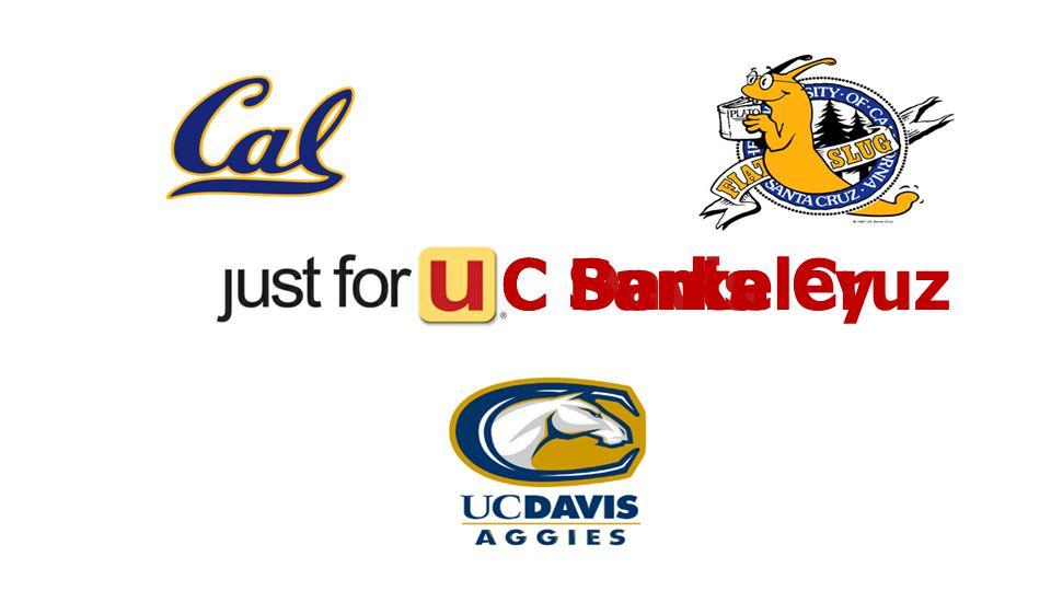 C DavisC BerkeleyC Santa Cruz