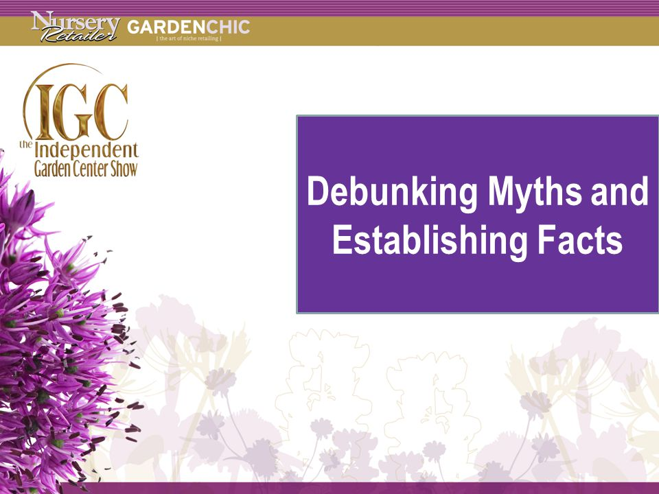 Methodology Debunking Myths and Establishing Facts