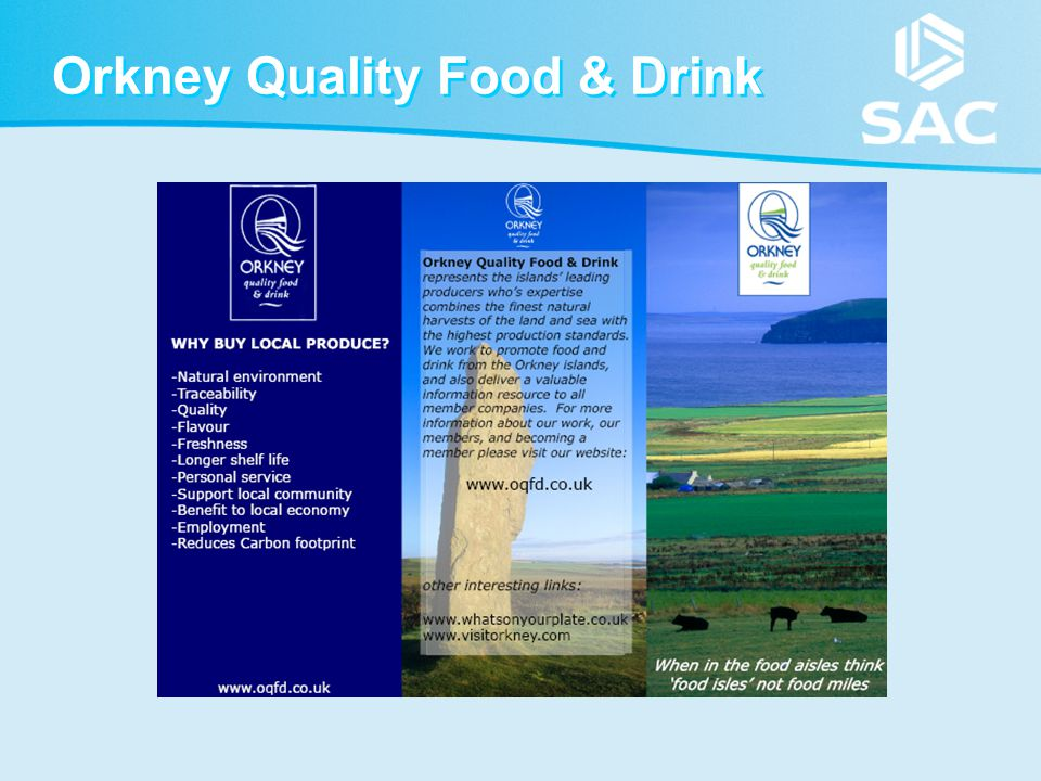Orkney Quality Food & Drink