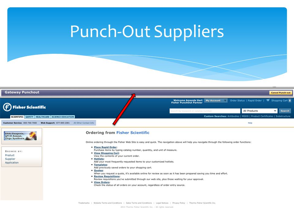 Punch-Out Suppliers