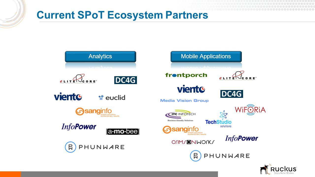 Current SPoT Ecosystem Partners