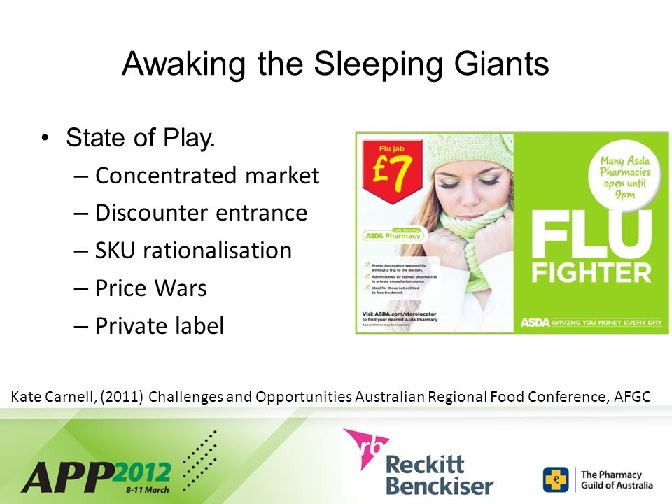 Awaking the Sleeping Giants State of Play.