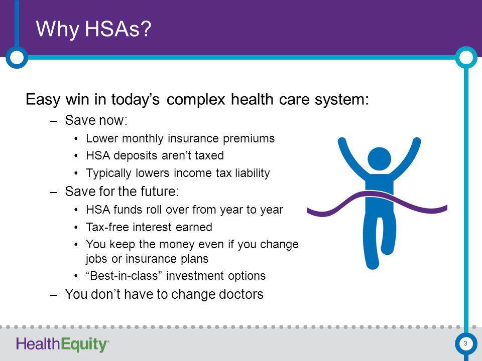 Why HSAs.