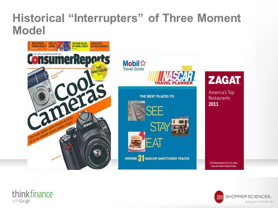 "Google Confidential Historical ""Interrupters"" of Three Moment Model"