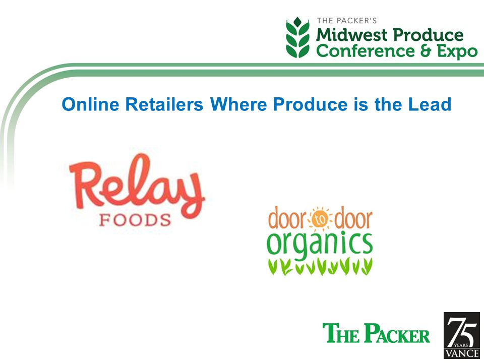Online Retailers Where Produce is the Lead