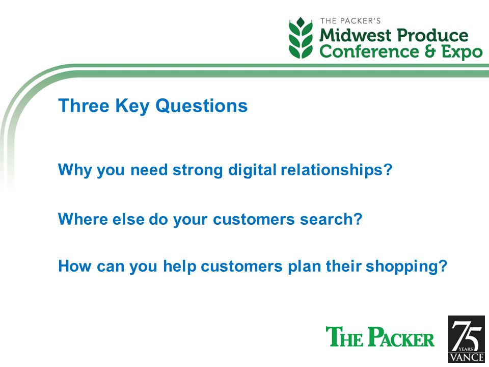 Three Key Questions Why you need strong digital relationships.