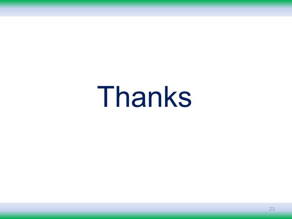 23 Thanks