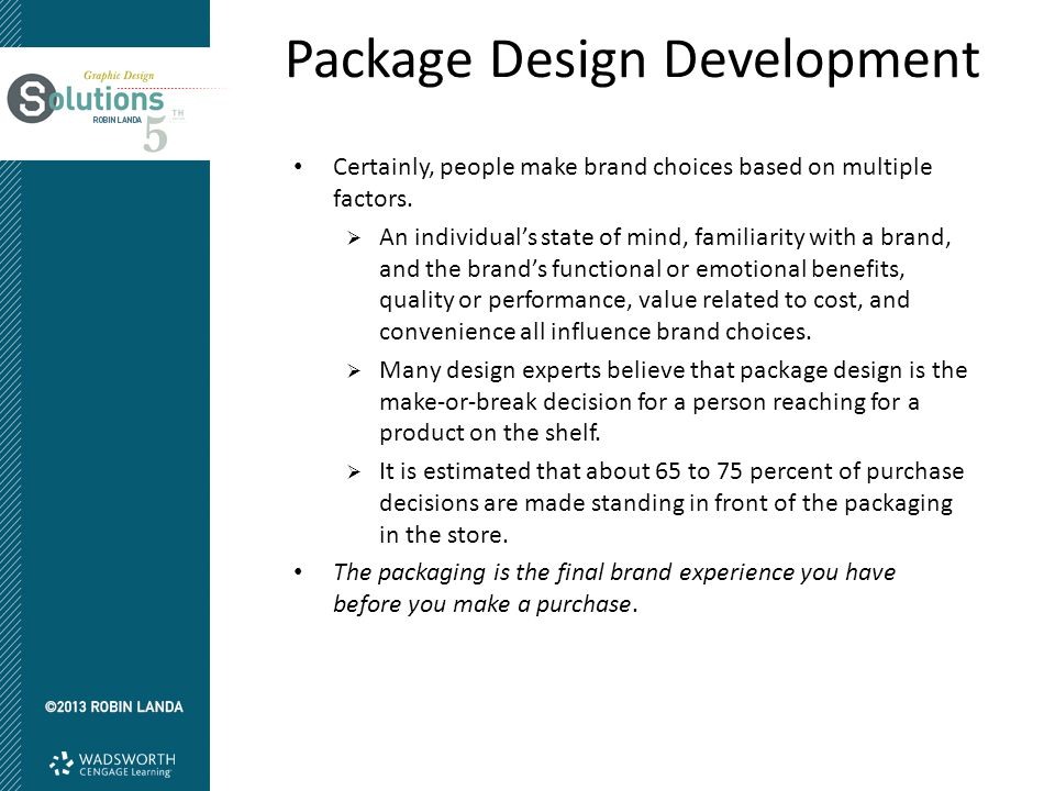 Package Design Benefits There are both functional and emotional benefits of any package design.
