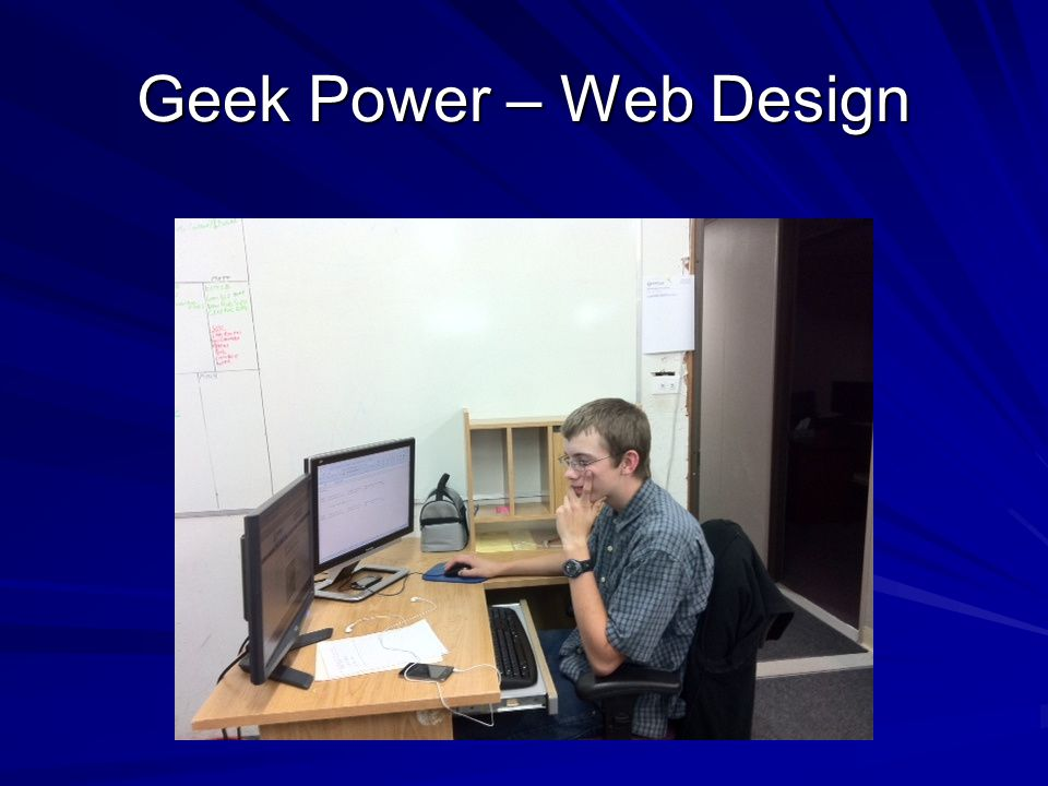 Geek Power – Web Design