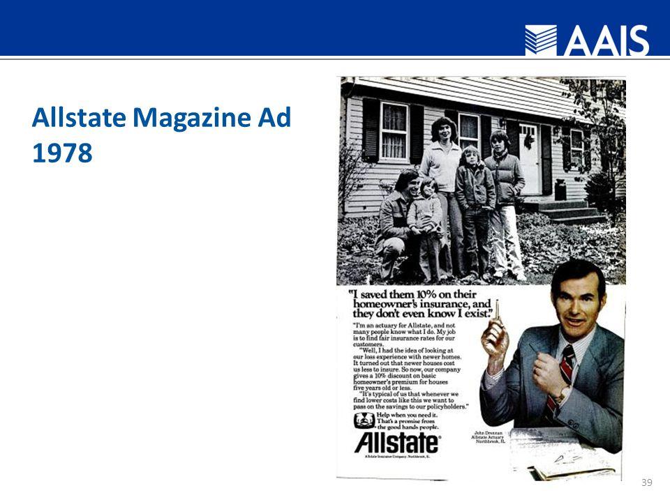 Allstate Magazine Ad 1978 39