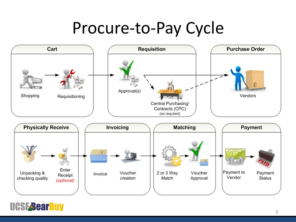 Procure-to-Pay Cycle 9