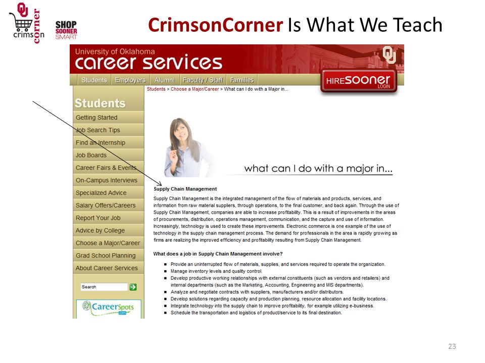 CrimsonCorner Is What We Teach 23