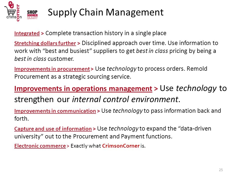 Integrated > Complete transaction history in a single place Stretching dollars further > Disciplined approach over time.