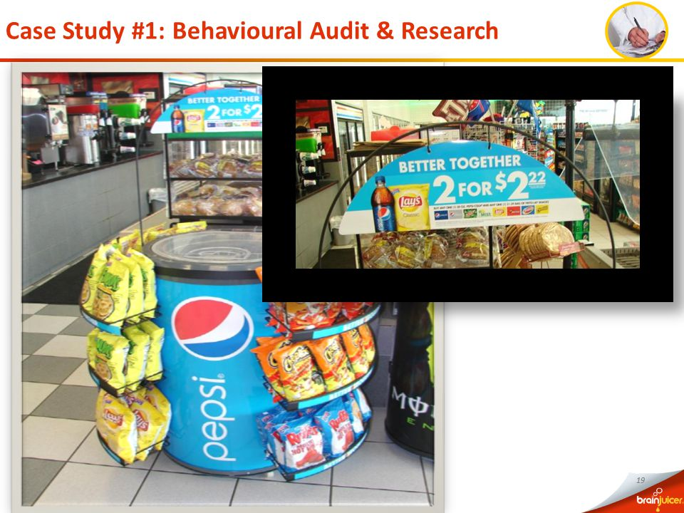 19 Case Study #1: Behavioural Audit & Research