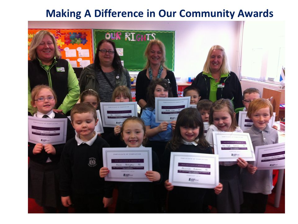 Making A Difference in Our Community Awards