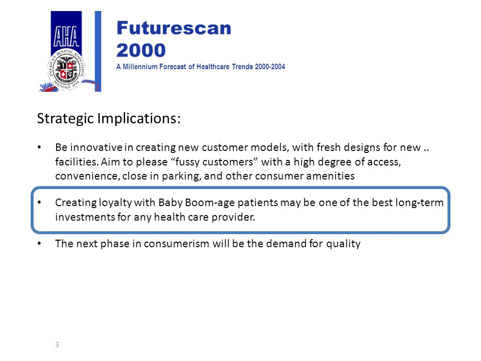 Strategic Implications: Be innovative in creating new customer models, with fresh designs for new..